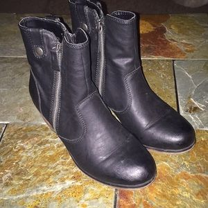 Mossimo Gray Charcoal Booties Size 7.5